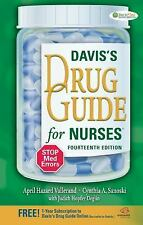 Davis's Drug Guide for Nurses: Davis's Drug Guide for Nurses by Judith Hopfer...