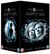 THE X FILES COMPLETE SERIES 1 2 3 4 5 6 7 8 9 MOVIE x-files xfiles DVD Box Set