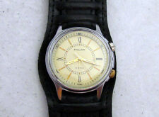 POLJOT Poliot SIGNAL ALARM USSR CCCP vintage men's mechanical wristwatch