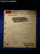 Sony Service Manual ST V50L / V70L Tuner  (#0601)