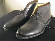 Pertini Men's Ankle Chukka Boot Black Spain Narrow'ish Size 47 EU 13 US