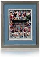 West Ham United Boys of 86 hand signed montage by 12 AFTAL photo proof COA