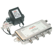 Eagle Aspen SHN24-Kit Amplified 4-Way Splitter Combiner CATV Off-Air UHF Signal