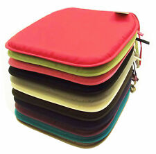 Luxury Chair Foam Cushion Seat Pads Tie On Removable Garden Dining Table Kitchen