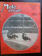 MOTO REVUE N°1026 31 MARS 1951 BICYLINDRES HARLEY ET INDIAN / CHAINE OU CARDAN