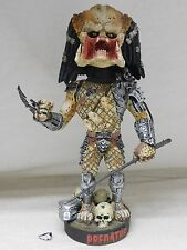 "NECA Extreme Head Knockers PREDATOR BOBBLEHEAD - DAMAGED 8"" Figure With Box"