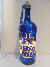 University of Kentucky  Inspired Wine Bottle Lamp Lighted Handpainted