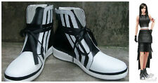 Final Fantasy VII FF7 Tifa Cosplay Costume Boots Boot Shoes Shoe