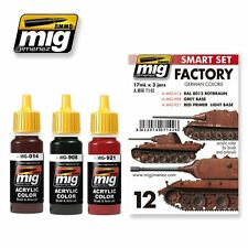 MIG PRODUCTIONS A.MIG7142 - SMART SET FACTORY GERMAN COLORS - NUOVO
