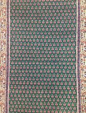 Miraculous Mir - Floral Rug  - Green Oriental Indian Carpet - 3 x 5