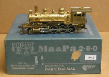 United Models/PFM 2-8-0 brass, Ma & Pa, unpainted