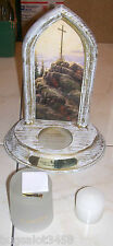 THOMAS KINKADE 2010 BY TELEFLORA SCONCE VOTIVE CANDLEHOLDER, COMES WITH CANDLE