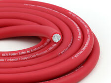 KnuKonceptz KCA Red Ultra Flex TRUE 1/0 Gauge Power Wire 0 AWG Cable
