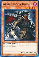 3X Armageddon Knight -Common -SDPD-EN018 -NM-Yugioh Pendulum Domination Structur