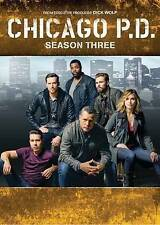 Chicago P.D.: Season Three 3 (DVD, 2016, 6-Disc Set) New PD Dick Wolf