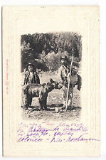 CPA  EUROPE ANIMAL -  ROUMANIE MONTREUR D'OURS OURS BEAR URSARI BRAILA 1904 ~A83