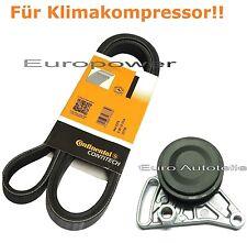 Keilrippenriemen + Spannrolle Für AUDI A4 A6 1.6/1.8 Für Klimaanlage Neu