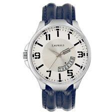 Laurels Outlander Analog White Dial Men's Watch - Lo-Otr-0103