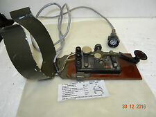 JUNKER MILITARY KEY. Key Telegraph. Military knee key. Morse key. Knee key.