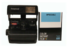 Polaroid 600 One Step Camera with NEW Version Impossible 600 Film