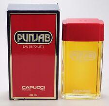 PUNJAB - Capucci 200 ml Eau de Toilette EdT Splash Neu / OVP * Vintage *