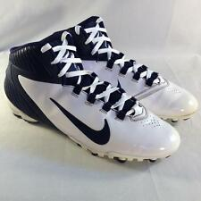 Nike Men's Alpha Speed TD Football  Cleats White Navy 442244 141 Sz 12.5  #B144