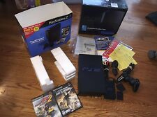 Sony Playstation 2 PS2 In Box With Bonus Accessories & Star Wars Battlefront