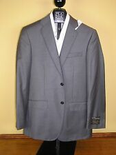 $1295 new Jos A Bank Signature Gold grey pattern suit 42 L 36 W tailored fit