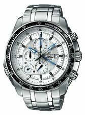 Casio Stainless Steel Edifice White Dial Alarm Chronograph  EF-545D-7A