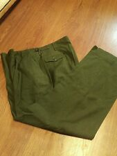 M-41 US Army M-1951 Wool Field Trousers long X large 39-43 Waist Korean War Era
