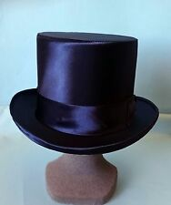 CAPPELLO A CILINDRO IN RASO, TOP HAT IN SATIN ZYLINDER HUT