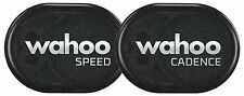 Wahoo RPM Speed & Cadence Sensor for iPhone, Android and Bike Computers,WFRPMC