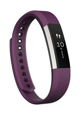 Fitbit Alta Fitness Tracker Wrist Band Watch Small (Plum)