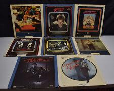 Vintage Lot of 8 Classic CED Videodisc Movies Selectavision Cincinnati Kid Sting
