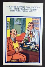 BOB WILKIN Comic POSTCARD 7712 Doctor FUNNY Humour UNPOSTED P070