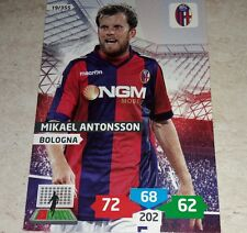 CARD ADRENALYN 2013/14 CALCIATORI PANINI BOLOGNA ANTONSSON CALCIO FOOTBALL
