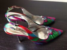 Dune Sling Back Shoes With Diamante Uk Size 4