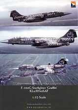 "Dutch Decals 1/32 F-104G STARFIGHTER ""GRAFFITI"" Scheme Dutch Air Force"
