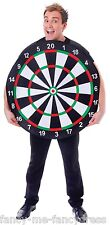 Mens Ladies Dart Board Spors Dart Stag Do Night Party Fancy Dress Costume Outfit
