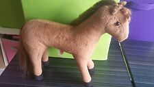 """Only Hearts Pets ''CHANCE THE 10  INCH BROWN HORSE""""  Only Hearts Club RARE"""
