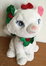 Aristocats Marie Plush Disney Store Exclusive Holiday Christmas Cat Stuffed Doll