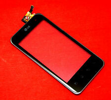 ORIGINALE LG p990 Optimus Speed Touchscreen Digitizer Vetro Anteriore con cornice frame
