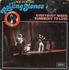 The Rolling Stones-Everybody Needs Somebody To Love (PS) French Import VG+