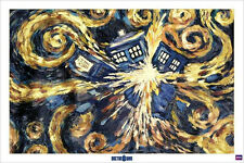 Doctor Who Exploding Tradis Science Fiction England Time Travel Peabody Awards