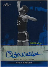 2012-13 LEAF METAL AUTO: CHET WALKER #16/25 AUTOGRAPH 7x ALL-STAR/HALL OF FAME