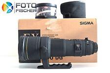 SIGMA 500mm F4,5 EX DG HSM APO mit Nikon Anschluss