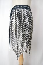 ISSEY MIYAKE Wrap Scarf Black/White Over Skirt/Pants 084 0113