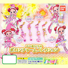 Bandai Magical Motto! Ojamajo DoReMi Poron Charm Mascot Collection Set of 4