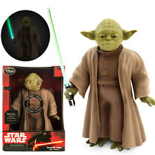 Brand New & Boxed Official Disney Star Wars 26cm Talking Interactive Yoda Doll