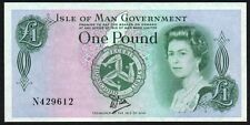 1983 ISLE OF MAN GOVERNMENT £1 BANKNOTE * N 429612 * EF+ *